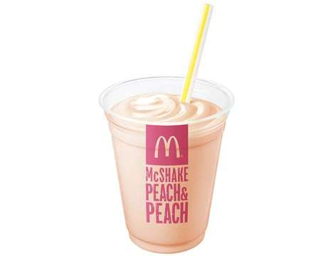 Hybrid Peach Drinks