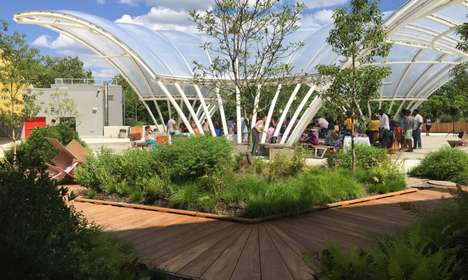 Child-Centric Rooftop Gardens - Brooklyn's Children Museum Has Unveiled a New Green Roof