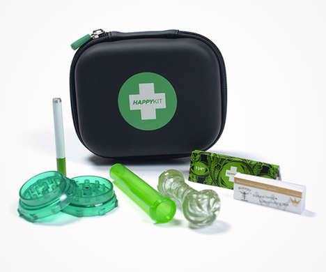 Medical Marijuana Carrying Kits - 'The Happy Kit' Offers a Discreet Way to Carry Cannabis