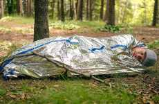 Pocket-Sized Mylar Tents - The BlizeTec Emergency Bivy Sack Provides Protection from the Elements