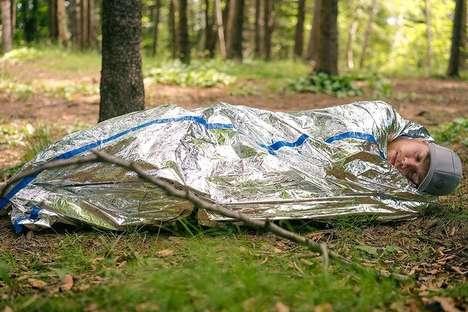 Pocket-Sized Mylar Tents
