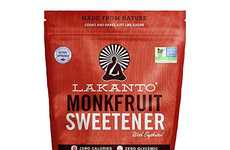 Raw Sugar-Inspired Sweeteners - The Lakanto Golded Monkfruit Sugar Substitute is Rich and Refined