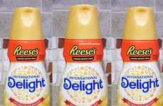 Candy-Flavored Coffee Creamers - The New Reese's Peanut Butter Cup Creamer Turns Coffee into Dessert