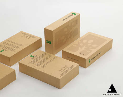 Sustainable Smartphone Packaging - This Eco-Friendly Box Represents a Company Committed to Reuse
