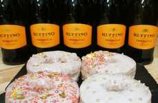 Boozy Prosecco Pastries - The Doughnut Project is Now Offering Alcohol-Infused Prosecco Donuts