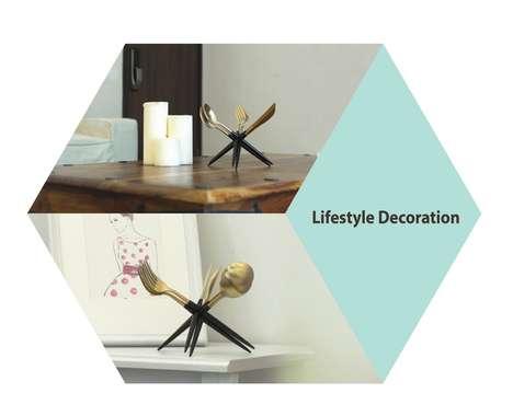 Sculptural Cutlery Sets