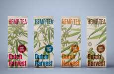 Sustainable Hemp Teas - These Teas Are Both Healthy and Environmentally Friendly