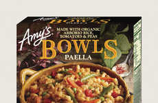 Frozen Vegan Paella Bowls - Amy's New Paella Bowl Offers a Vegan Take on a Classic Spanish Dish