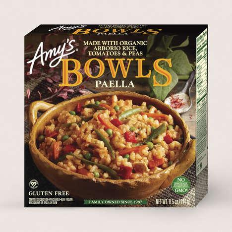 Frozen Vegan Paella Bowls
