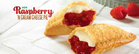 Creamy Raspberrry Hand Pies