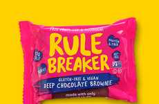 "Free-From Brownies - Rule Breaker's Allergy-Friendly Brownies Promise ""None of the Bad Stuff"""