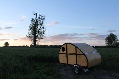 Self-Built Campers - The Birch Sprig is a Camper Kit That People Can Put Together Themselves