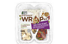 Pre-Made Wrap Kits - Ready Pac Foods Provides Everything Needed for Instant Wrap Assembly