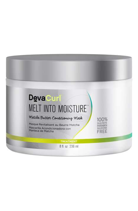 Matcha-Based Hair Masks - This DevaCurl Conditioning Mask Intensely Hydrates the Hair