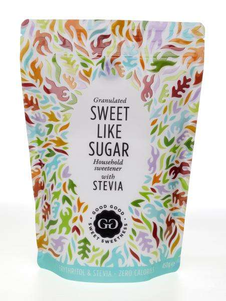 Hybrid Zero-Calorie Sweeteners - Good Good's Sweet Like Sugar Sweetener is a Replacement for Sugar
