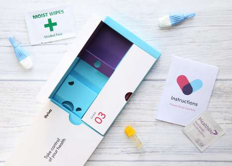'Thriva' Offers Home Blood Testing Kits to Track and Improve Health