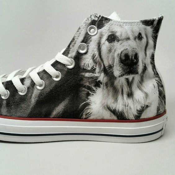 Custom Converse Put Your Dog ON Chucks