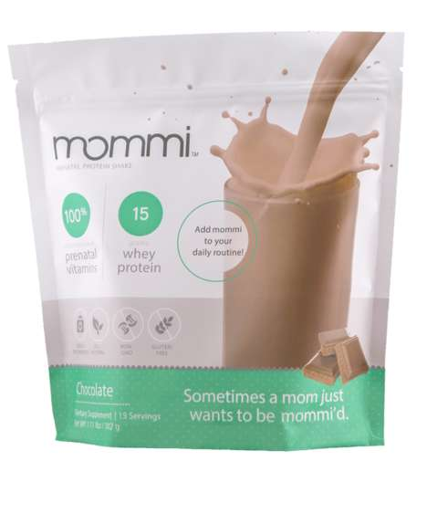 Prenatal Protein Shakes - Mommi's Prenatal Vitamin Protein Powder Makes Nutritious Drinks
