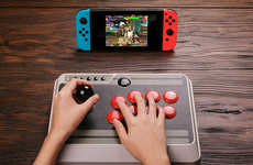 Retro Video Game Controllers