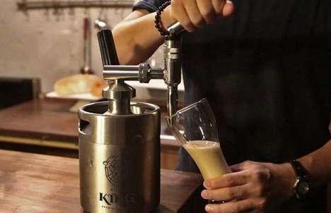 Nitrogen-Infusing Coffee Kegs