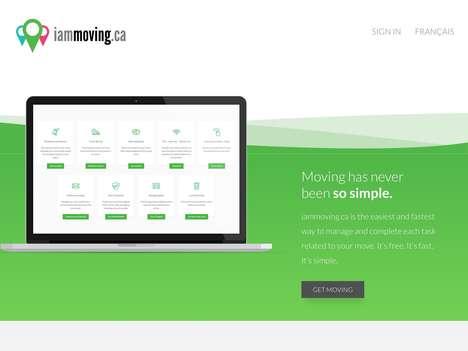 Moving Organization Websites