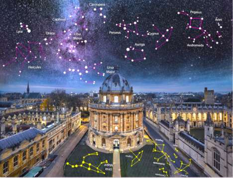 Pedestrian Star-Mapping - The Star Light, Star Bright Project Will Be an Interactive Art Piece