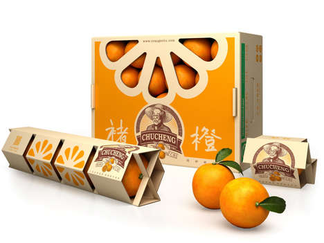Orange Package Collections - CHUCHENG Oranges Boast Creative Single and Multi-Packs