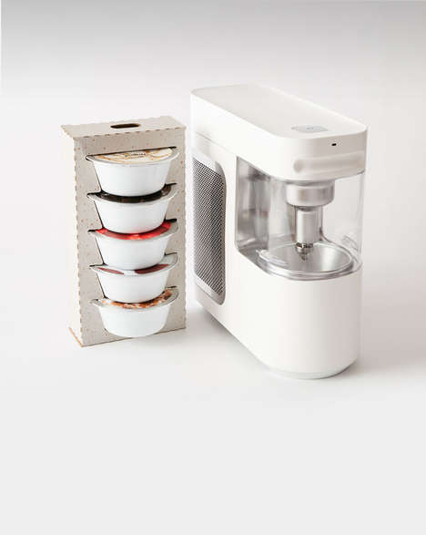 Single-Serve Frozen Yogurt Makers - 'Wim' Makes It Easy to Prepare Frozen Yogurt at Home for One