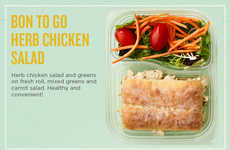 Grab-and-Go Lunch Boxes - Au Bon Pain Introduced 'Bon to Go Boxes' for Convenient Lunches or Snacks