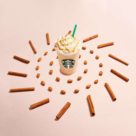 Blended Horchata Beverages - Starbucks Released a New Almond Milk Frappuccino That's Great for Fall
