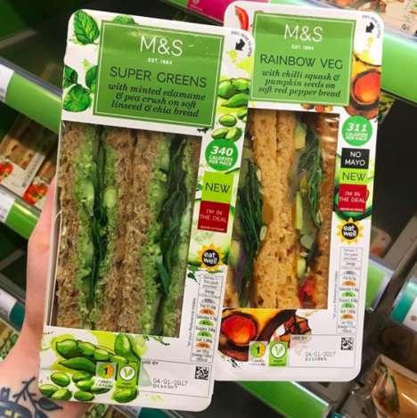 Vegan Superfood Sandwiches
