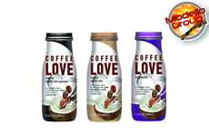 Coconut Espresso Beverages - 'Coffee Love' Blends a Double Shot Espresso with Creamy Coconut Milk