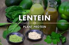 Protein-Rich Lentil Powders - 'LENTEIN' is a Protein-Rich Powder Made with Water Lentils