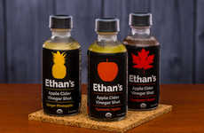 Functional Vinegar Shots - Ethan's Offers Apple Cider Vinegar Shots in Sweet, Tart and Spicy Flavors