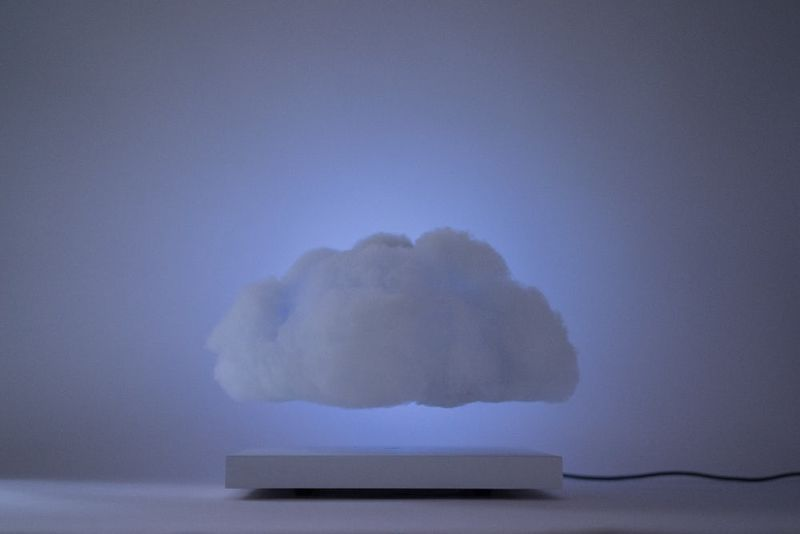 Floating Thunder Cloud Lamps