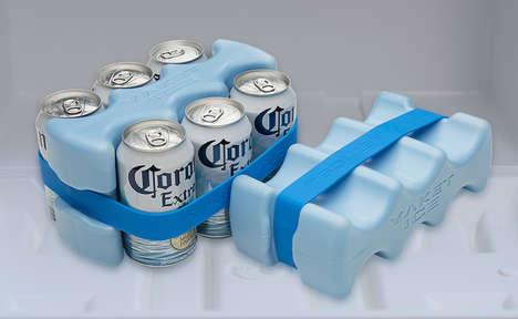 Contoured Beverage Ice Packs
