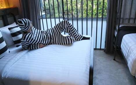 Jail-Themed Thai Hotels - The Sook Station Hotel Incarcerates Guests in Cells for the Night