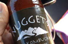 Espresso-Infused Kombuchas - The Nugget's Raw Espresso Kombucha Contains Just Two Ingredients
