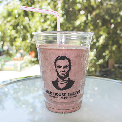 Coffee-Flavored Milkshakes - Milk House Shakes Sells Milkshakes Named After US Presidents