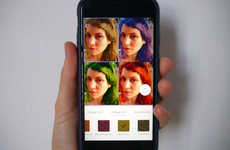 AI-Infused Hair Coloring Apps