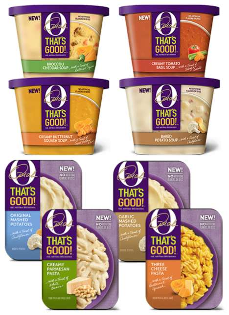 Better-for-You Refrigerated Sides - The Kraft Heinz Co. and Oprah Winfrey Launched 'O, That's Good!'