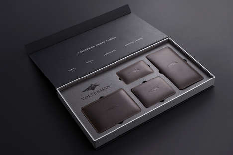 Luxurious Smart Wallet Packaging