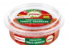 Vegetable Grain Dips - Popp Feinkost Makes Chilled Vegetable Spreads Like Tomato-Freekeh