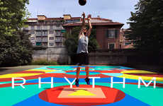 Anamorphic Basketball Courts