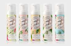 Scented Self-Tanning Foams - The Natural Self-Tanners from 'Freshly Baked' Boast Alluring Scents