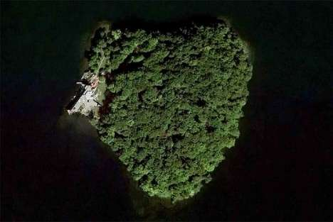 Heart-Shaped Private Islands - 'Petra Island' was Designed by Architect Frank Lloyd Wright