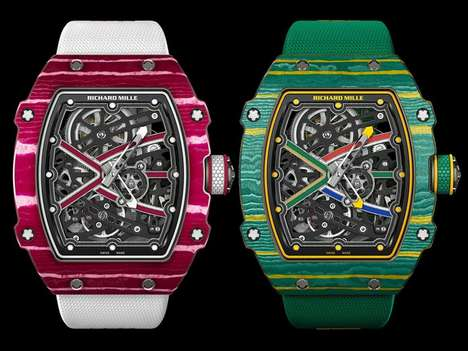 Olympic Luxury Watches - The RM 67-02 High Jump and RM 67-02 Sprint are Dedicated to Medallists