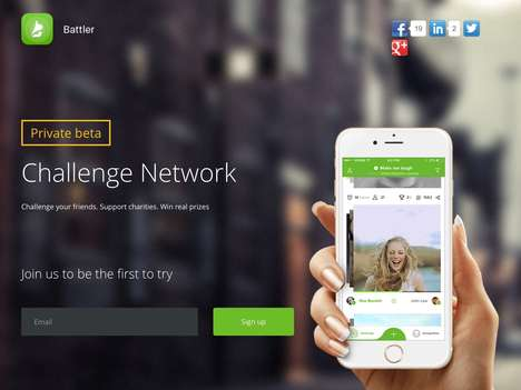Charitable Challenge Networks