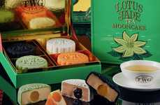 Celebratory Luxury Cakes - TWG Tea Unveiled its Collection of Mooncakes for Mid-Autumn Festival