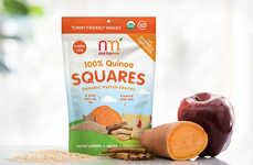 Free-From Quinoa Snacks - NurturMe Brands Its Gluten-Free, Probiotic-Rich Snacks as 'Tummy Friendly'